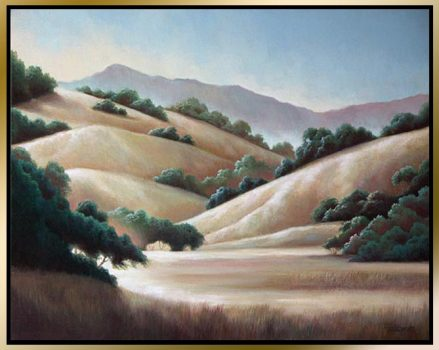 cal_valley_sunshine_framed