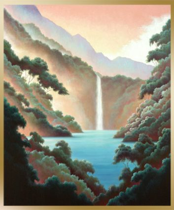waterfall-in-paradise-framed